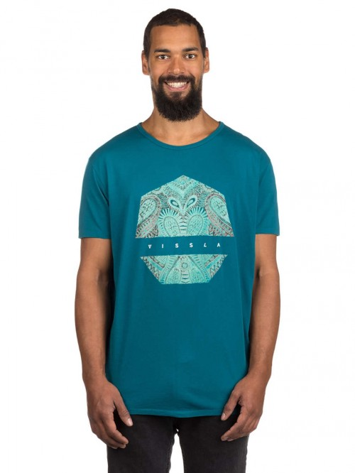 Camiseta Vissla Concussion Tee Teal