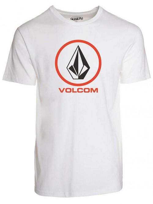 Camiseta Volcom Circle Staple T-Shirt White
