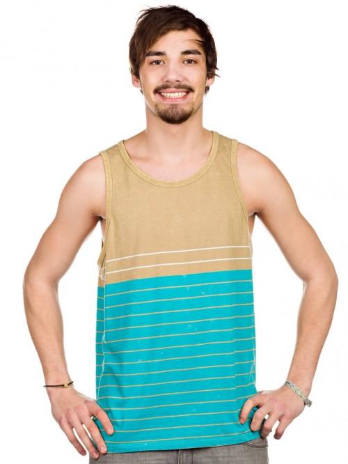 Camiseta Volcom Ogden Tank Top Turquoise