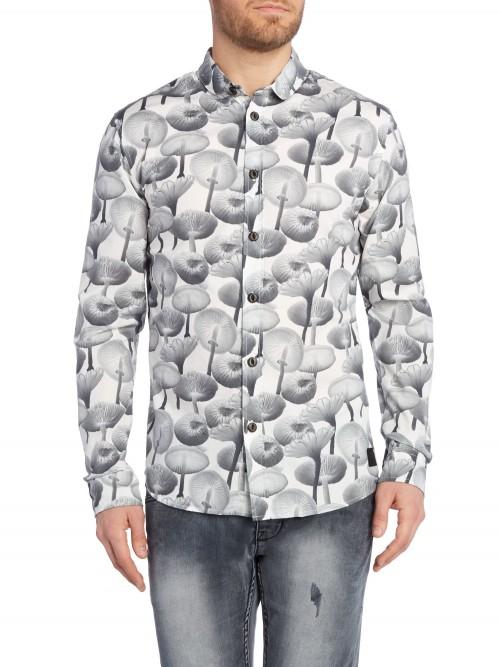 Camisa Anerkjendt Florian LS White