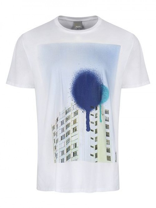 Camiseta Bench Composition White