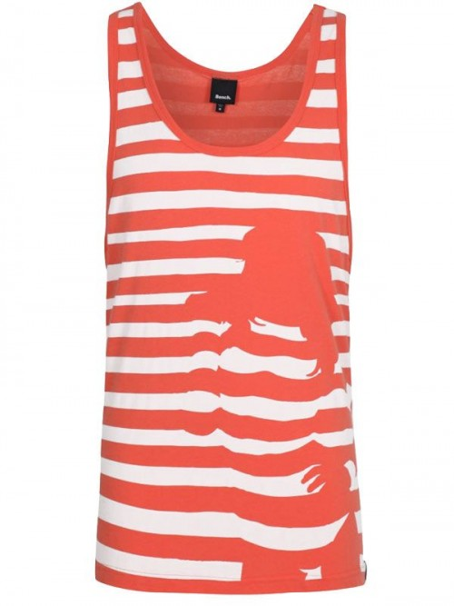 Camiseta Bench Stripey Chick Vest Orange