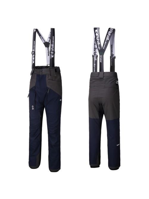 Pantalones de snowboard Rehall Baggy Suspenders Dragg-R Dark Navy