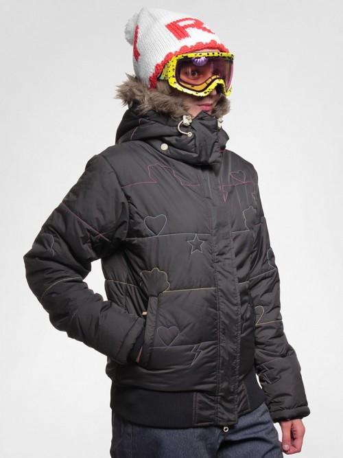 Chaqueta de snowboard Special Blend D1 Charm Black