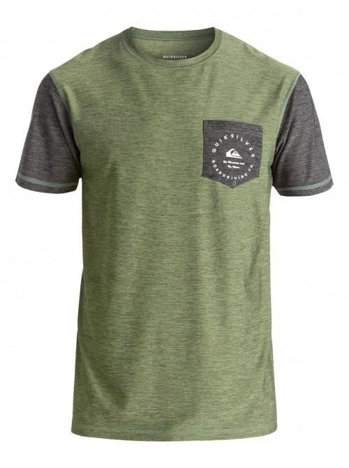 Camiseta Quiksilver Badge Four Leaf Clover