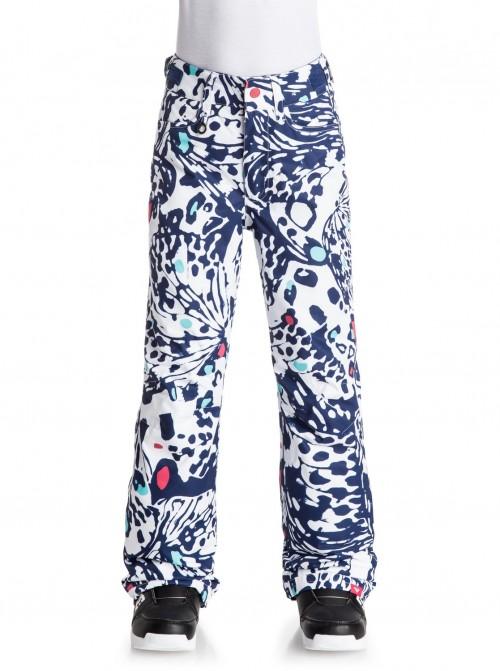 Pantalones de snowboard Roxy Backyard Printed Butterfly Blue Print