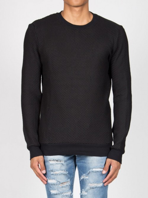 Jersey Sixth June Jumper Knitted Black
