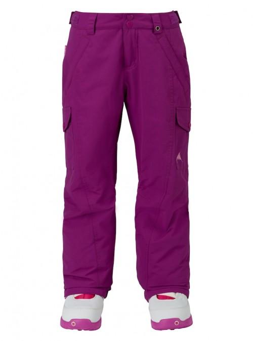 Pantalones de snowboard Burton Elite Cargo Pants Grapeseed