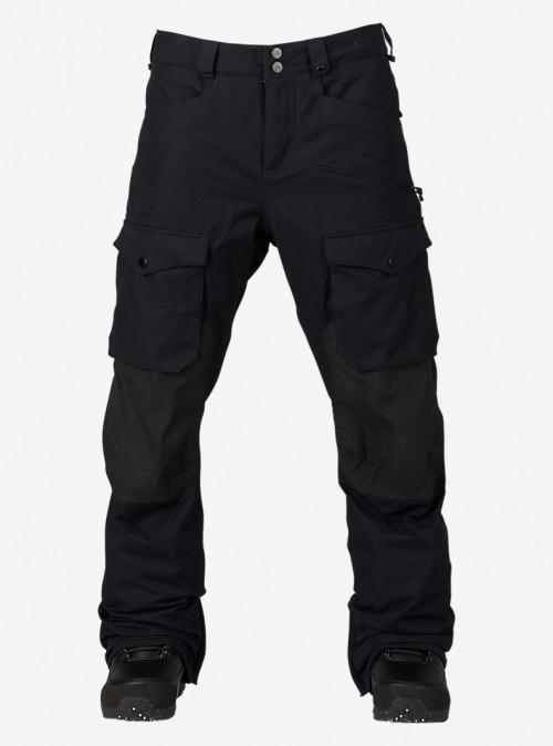 Pantalones de snowboard Burton Hellbrook Pants True Black/True Black Waxed