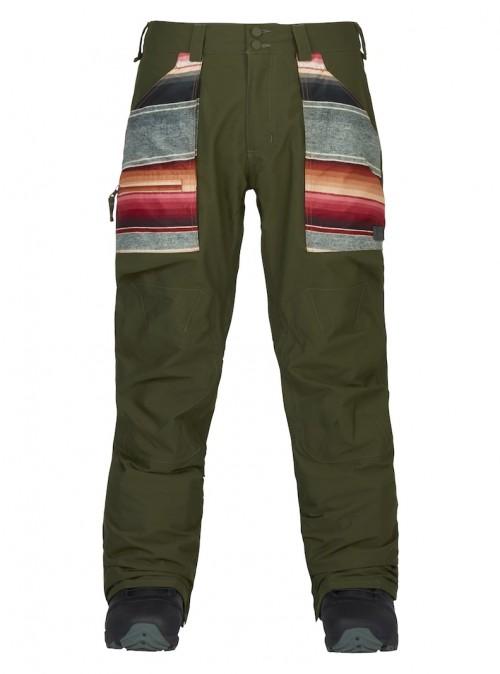 Pantalones de snowboard Burton Southside Pants Slim Fit Forest Night/Sinola