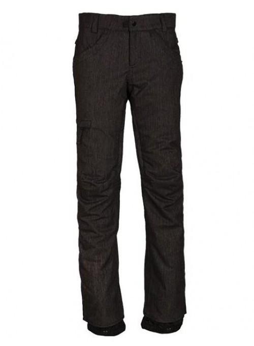 Pantalones de snowboard 686 Patron lnsulated Pants Black Denim