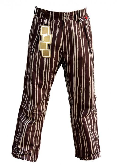 Pantalones de snowboard Foursquare S5 Wong Pants Bear Rug Woods