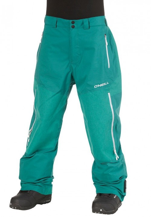 Pantalones de snowboard O'Neill Jones 3L Shell Mundaka Green