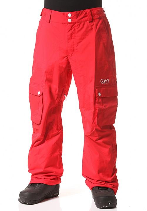Pantalones de snowboard Wear Colour Cargo Pants Red