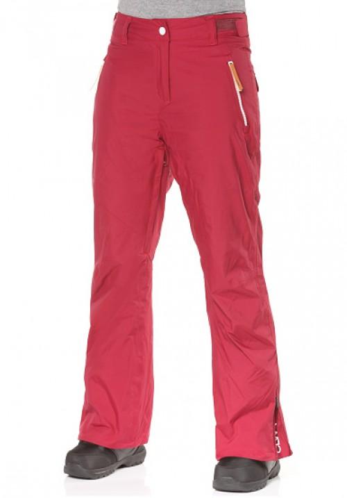 Pantalones de snowboard Wear Colour Stencil Pants Burgundy