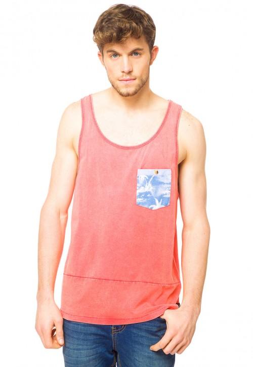 Camiseta Rip Curl Brash Flower Tank Hot Coral