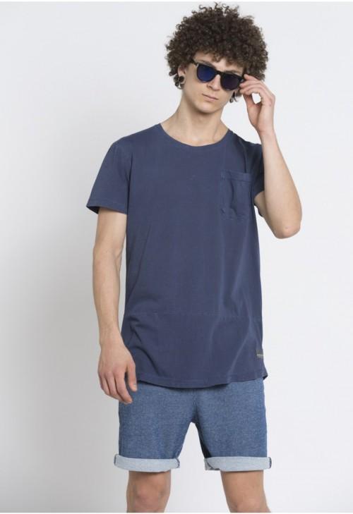 Camiseta Anerkjendt Tobey T-shirt Vintage Indigo