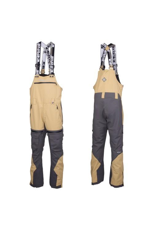 Pantalones de snowboard Rehall Workwear-Salopet Franz-R Graphite