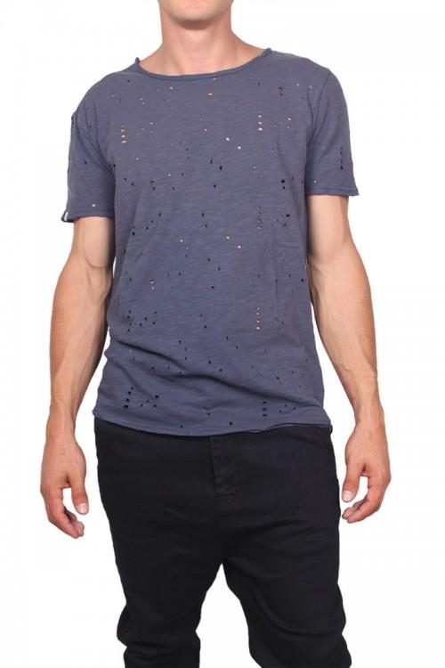 Camiseta Anerkjendt Aiko T-Shirt Midnight Navy