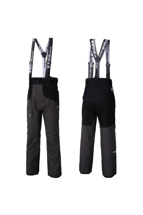 Pantalones de snowboard Rehall Baggy Suspenders Dragg-R Graphite