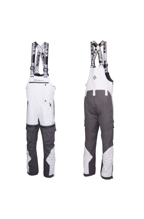 Pantalones de snowboard Rehall Workwear-Salopet Franz-R Glacier Grey