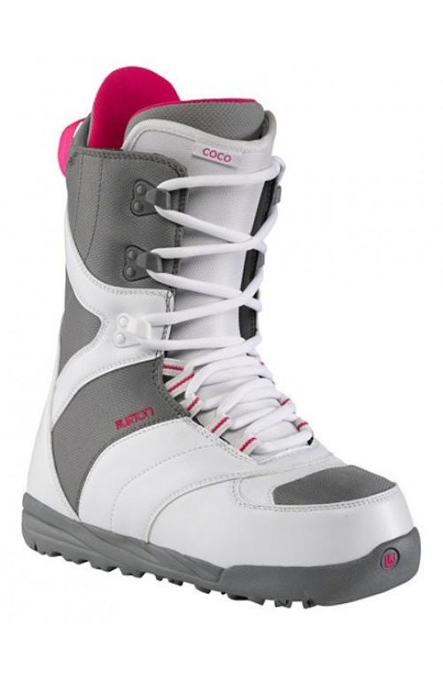 Botas de snowboard Burton Coco White-Gray
