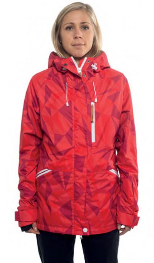 Chaqueta de snowboard Wear Colour Cat Red Ceramic