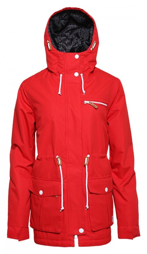 Chaqueta de snowboard Wear Colour Up Parka Red