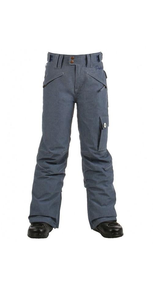 Pantalones de snowboard Protest Popping JR Pants Blue Petrol