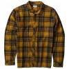 Billabong Coastline Flannel Shirt Gold