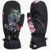 Roxy Jetty Mitt True Black Blooming Party