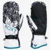 Roxy Jetty Mitt True Black Tiger Camo